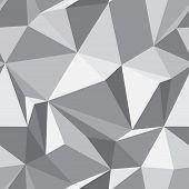 Abstrato textura perfeita - fundo de polígonos - Vector
