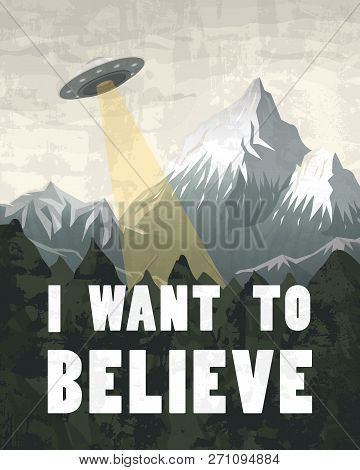 Ufo Or Flying Saucer On
