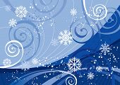 Постер, плакат: Зимние праздники в версии также доступны векторной Галерея этого изображения