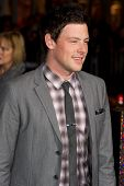 HOLLYWOOD, CA - DECEMBER 5: Actor Cory Monteith arrives at the premiere of