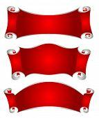 set of christmas frames for design