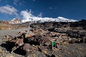 Meager Landscape At Mount Ruapehu
