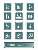 Drinks Icon-Set