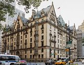 NEW YORK CITY; USA - JUNE 12: The Dakota building; located in the Upper West Side of Manhattan - kno