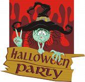 invitación a una fiesta de halloween