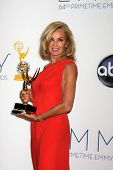 LOS ANGELES - SEP 23:  Jessica Lange in the press room of the 2012 Emmy Awards at Nokia Theater on S