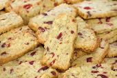 Walnut Cranberry Christmas Cookies