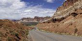 Biking the Desert Road