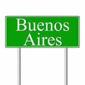 Muestra de camino verde de Buenos Aires