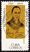 Postage stamp Cuba 1964 Dr. Tomas Romay, Physician