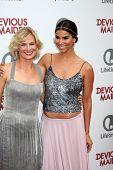 LOS ANGELES - JUN 17:  Melinda Page Hamilton, Roselyn Sanchez arrives at the