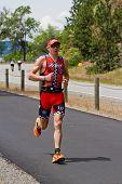 Ben Hoffman, Coeur D' Alene Ironman Running Event
