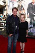 LOS ANGELES - JUN 22:  Rick Dees, Julia Dees arrives at the World Premiere of