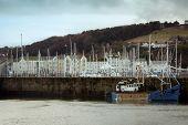 White Haven Harbour In Cumbria