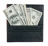 Men's Wallet With Money