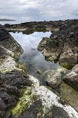 Ballycastle, Antrim Coast Landscape In North Ireland