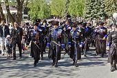 The Cossacks Of The Terek Cossack Army.