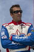 Fort Worth, TX - Jun 07, 2013:  Justin Wilson (19) takes to the track for a practice session for the