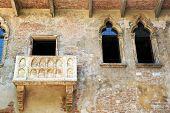 Постер, плакат: Балкон Ромео и Джульетты в Вероне Италия