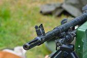 Machine gun detail