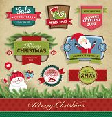 Christmas design and decorative elements