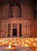 Night show at Petra