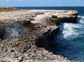 Devils Bridge On Antigua Barbuda