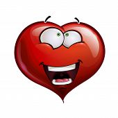 Heart Faces Happy Emoticons - Wanderful