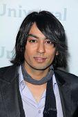 Vik Sahay at the NBCUNIVERSAL Press Tour All-Star Party, The Athenaeum, Pasadena, CA 01-06-12