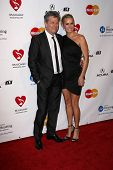 David Foster and Yolanda Hadid  at the MusiCares Tribute To Barbra Streisand, Los Angeles Convention