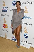 Toni Braxton at the Clive Davis Pre-Grammy Awards Party, Beverly Hilton Hotel, Beverly Hills, CA. 02-12-11