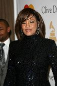 Whitney Houston  at the Clive Davis Pre-Grammy Awards Party, Beverly Hilton Hotel, Beverly Hills, CA