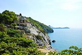 The Beautiful View On Sichang Island At Sriracha Ampor ,chonburi Province,thailand