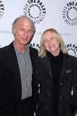 Ed Harris and Amy Madigan at the premiere of American Masters - Jeff Bridges: The Dude Abides, Paley Center for Media, Beverly Hills, CA. 01-08-11