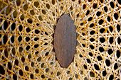 Abstract Closeup Of Patterns And Textures On Wicker Weave
