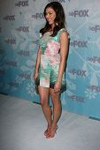 Michaela Conlin  at the 2011 FOX Winter All-Star Party, Villa Sorriso, Pasadena, CA. 01-11-11