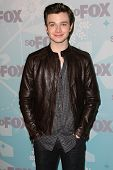 Chris Colfer  at the 2011 FOX Winter All-Star Party, Villa Sorriso, Pasadena, CA. 01-11-11