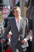 Colin Firth at the indiction ceremony for Colin Firth into the Hollywood Walk of Fame, Hollywood, CA