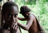 Portrait Of Korowai Girl