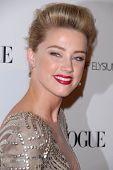 Amber Heard at the 2011 Art Of Elysium
