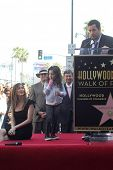 Jackie Sandler, Sadie Sandler, Adam Sandler at Adam Sandler's Star on the Hollywood Walk of Fame cer