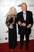 Buzz Aldrin and wife Lois at the 8th Annual Living Legends of Aviation, Beverly Hilton Hotel, Beverly Hills, CA. 01-21-11