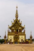 Lanna Chapel Of Temples In Chiangrai Thailand
