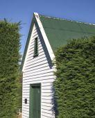 Holz-Gebäude