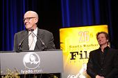 Geoffrey Rush and Colin Firth  at the 26th Annual Santa Barbara International Film Festival Montecito Award To Geoffrey Rush, Arlington Theatre, Santa Barbara, CA. 01-31-11