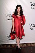 Erica Dasher at the Disney ABC