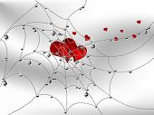 Hearts In Cobweb