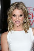 Ashley Benson at the 2012 People's Choice Awards Arrivals, Nokia Theatre. Los Angeles, CA 01-11-12