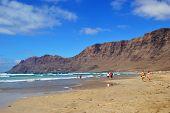 Beach Playa Famara