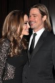 Angelina Jolie, Brad Pitt at the 23rd Annual Producers Guild Awards, Beverly Hilton, Beverly Hills,